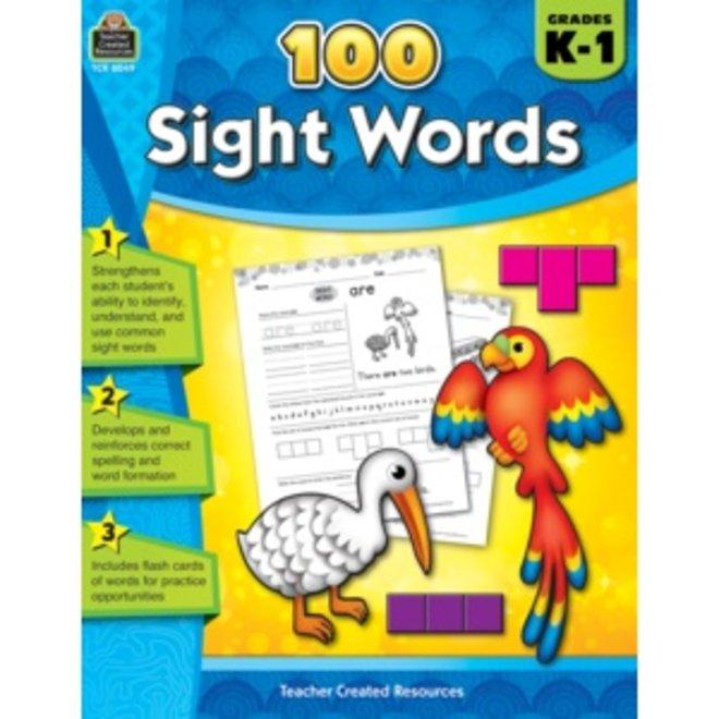 100 Sight Words Grades K-1