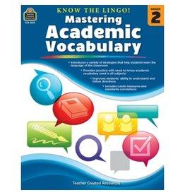 Mastering Academics Vocabulary Grade 2