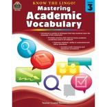 Mastering Academic Vocabulary Grade 3