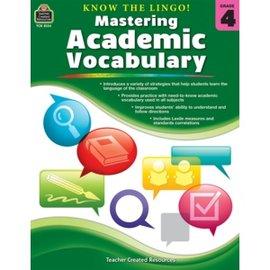 Mastering Academic Vocabulary Grade 4