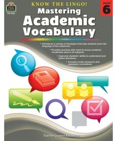 Mastering Academic Vocabulary Grade 6