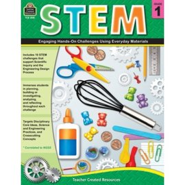 STEM: Engaging Hands-On Challenges Grade 1