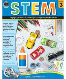 STEM: Engaging Hands-On Challenges Grade 3