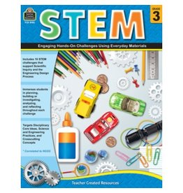 STEM: Engaging Hands-On Challenges Grade 3