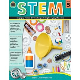 STEM: Engaging Hands-On Challenges Grade 5