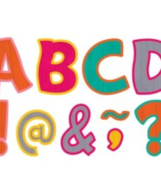 """Tropical Punch Funtastic 3"""" Magnetic Letters"""