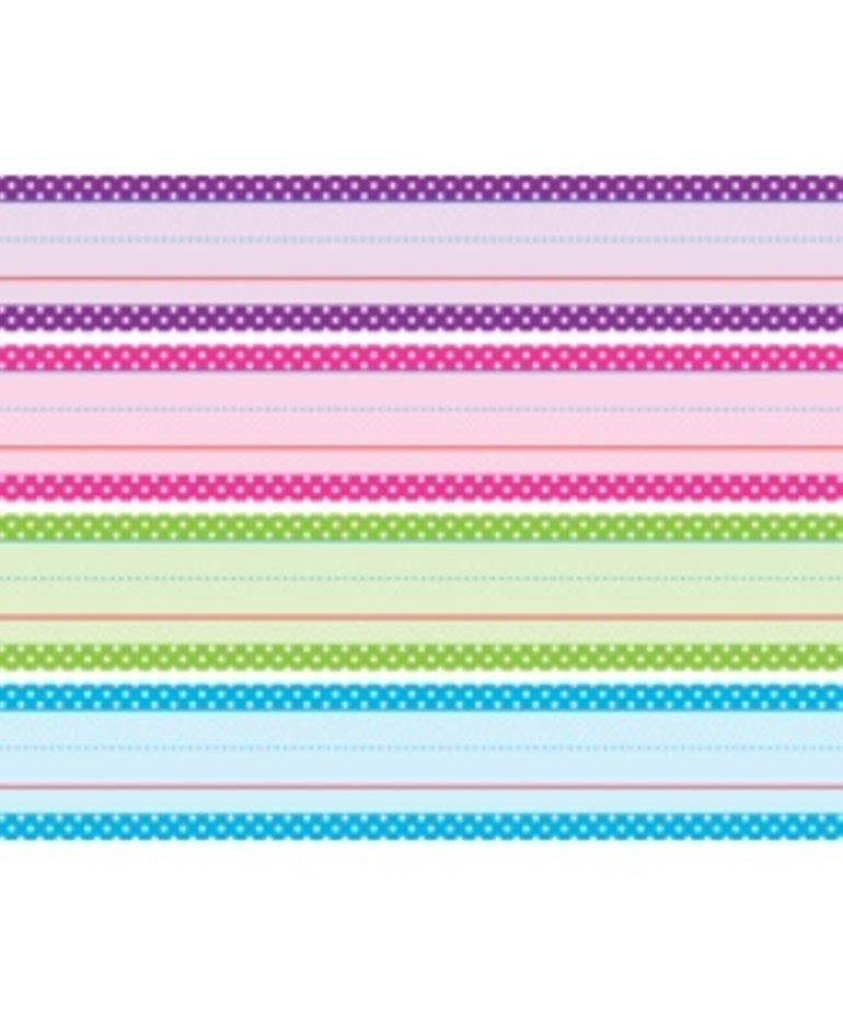Bright Colors Polka Dot Sentence Strips