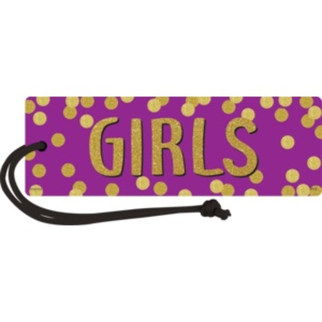 Confetti Magnetic Girls Hall Pass