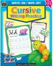 Cursive Writing Practice Write-on Wipe-off Book