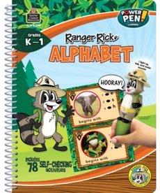 Ranger Rick Power Pen Learning Book-Alphabet