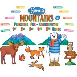 Nordic Trails Moving Mountains in...Bulletin Board Set