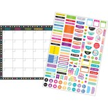 Chalkboard Brights Clingy Thingies Chalkboard Brights Calendar Set