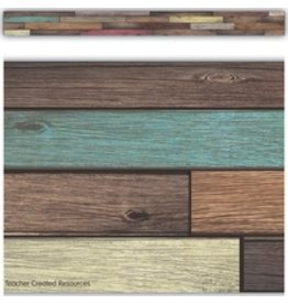 Home Sweet Classroom Reclaimed Wood Straight Border Trim