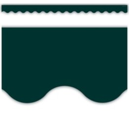 Home Sweet Classroom Hunter Green Scalloped Border