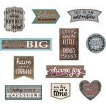 Home Sweet Classroom Clingy Thingies Positive Sayings Accents