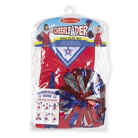Melissa & Doug Cheerleader Role Play Set