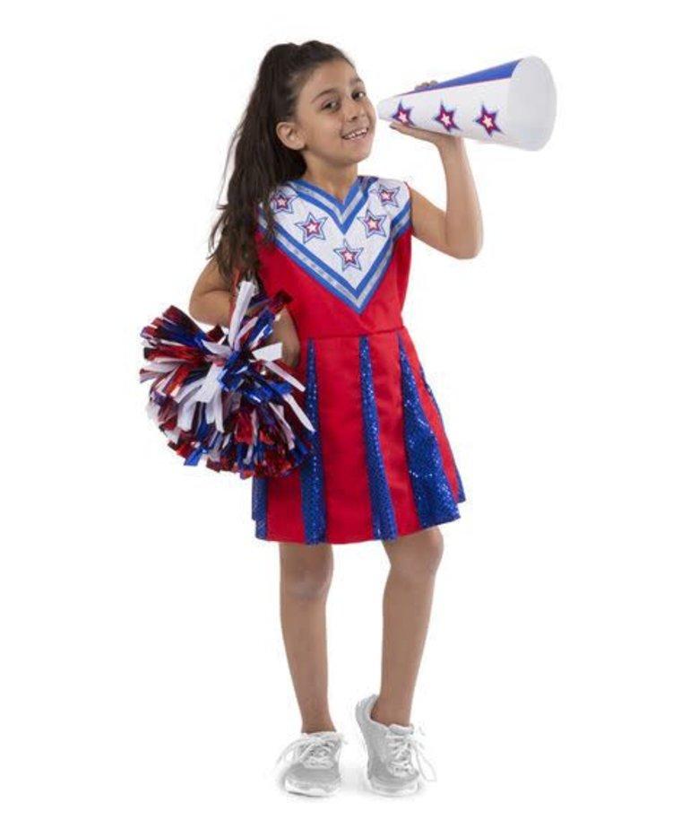 Melissa & Doug Cheerleader Role Play Set