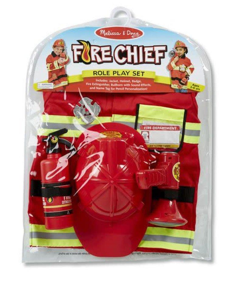 Melissa & Doug Fire Chief Role Play Set