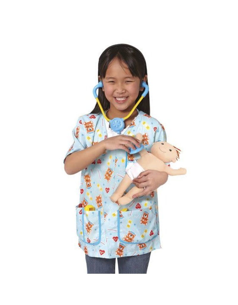 Melissa & Doug Paediatric Nurse Role Play Set