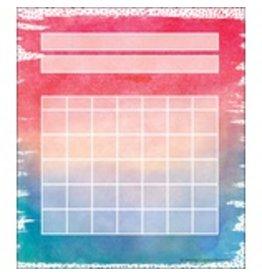 Watercolor Watercolor Incentive Charts