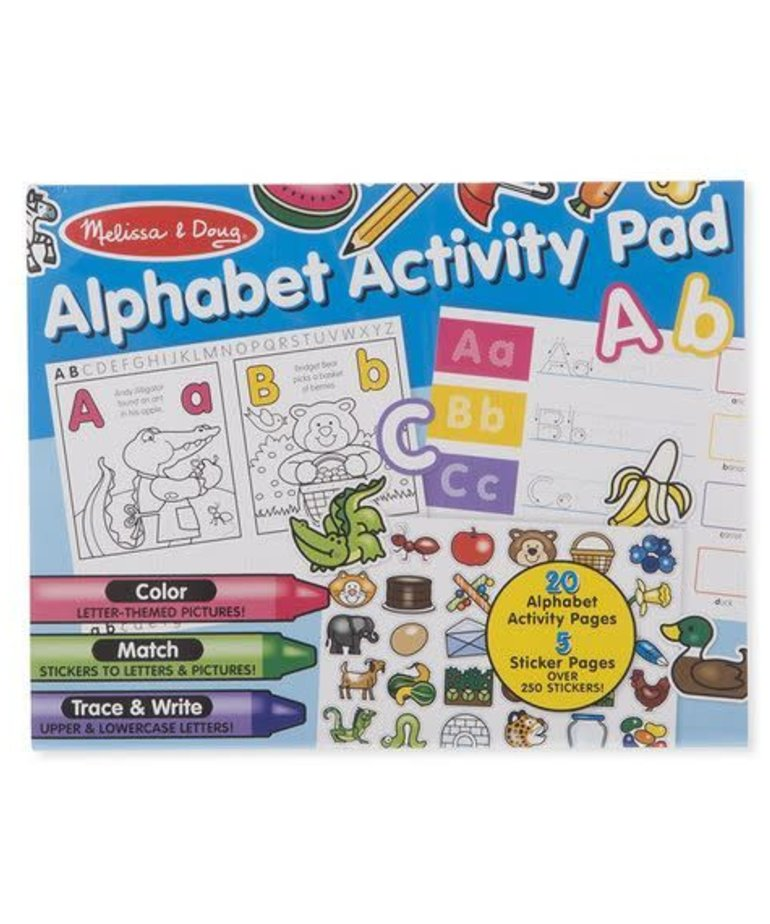 Melissa & Doug Alphabet Activity Pad