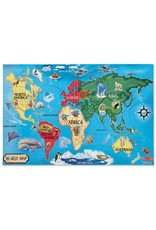 Melissa & Doug World Map Floor Puzzle