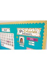 Confetti Let's Celebrate Birthdays Mini Bulletin Board