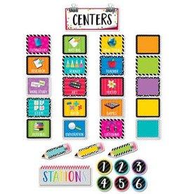 Bold & Bright Bold & Bright Classroom Centers-Mini Bulletin