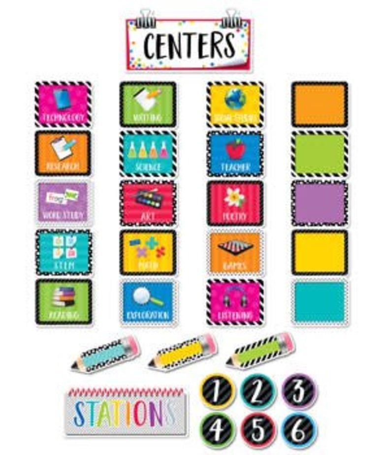 Classroom Centers-Mini Bulletin