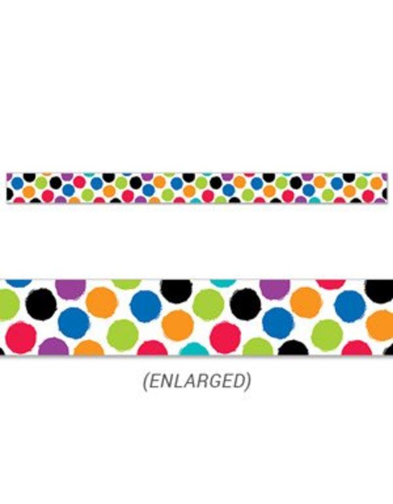 Bold & Bright Bold & Bright Colourful Spots Border
