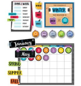 Bold & Bright Bold & Bright Bulletin Board Calendar Set