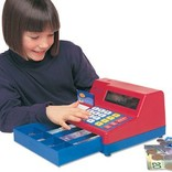 Learning Resources Cash Register w/Canadian Currency