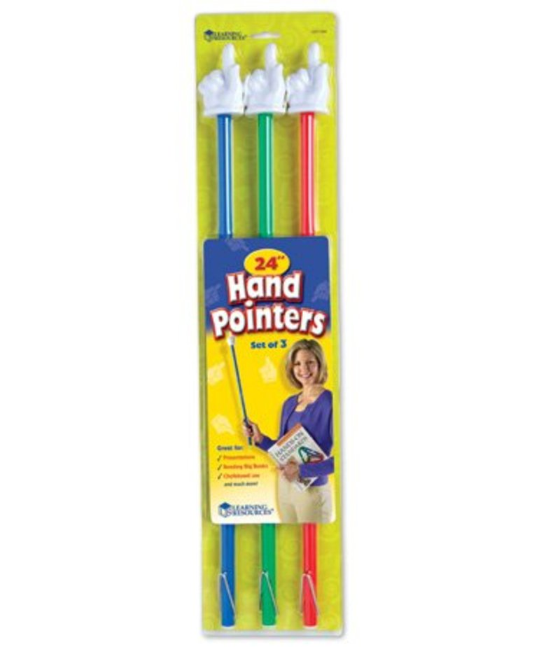 Learning Resources 24IN Hand Pointers(set of 3)