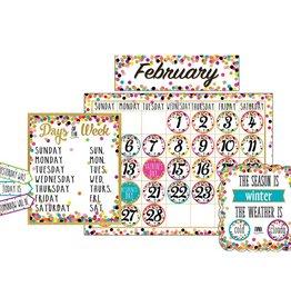 Confetti Calendar Bulletin Board Display