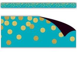 Confetti Teal Confetti Magnetic Border