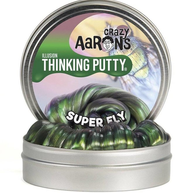 Crazy Aaron's Thinking Putty- Super Fly