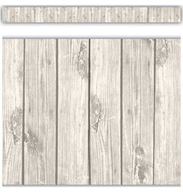 Shabby Chic Whitewood Straight Border Trim