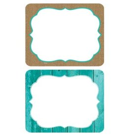 Shabby Chic Shabby Chic Name Tags/ Labels