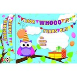 Happy Birthday Owls Bookmark Awards