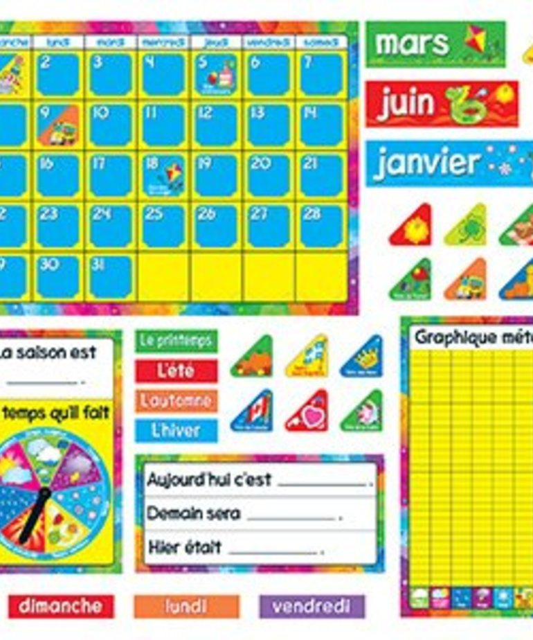 French Calendar (monthly)