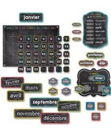 French Calendar Set (Chalk)-Bulletin