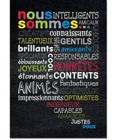 French Poster - Nous Sommes