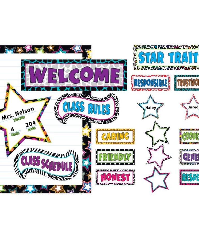 Fancy Stars Bulletin Board Set