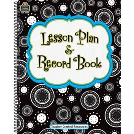 Crazy Circles Lesson Planner & Record Book
