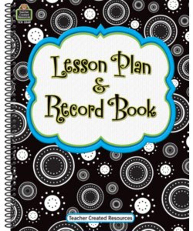 Crazy Circles Lesson Planner & Record Book