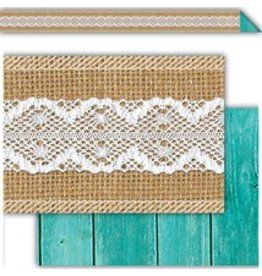 Shabby Chic Double Sided Border