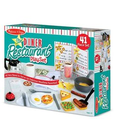 Melissa & Doug Restaurant Diner Play set