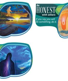 Seven Teachings Honest poster (3PK)