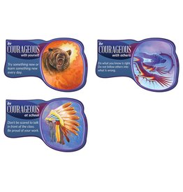 Seven Teachings Courageous poster (3pk)