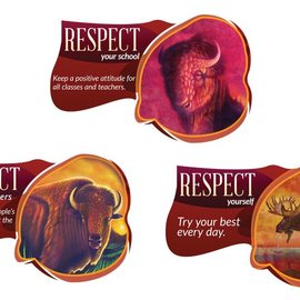 Seven Teachings Respect poster (3pk)